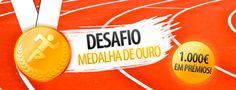 Aposte nos Eventos de Verão – Jogos #Olímpicos 1.000€ em prémios! #Olympics