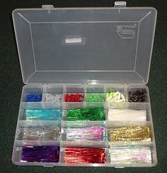 Pick up some sorting boxes from craft supply store