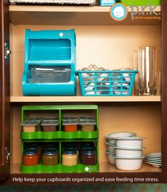 Ease feeding time stress with PRK Organizers. Keep baby bottles, sippy cups and baby food jars in one easy to find place. Store in cupboard, freezer or fridge. Great for breast milk storage. Use code pin15 to save 15% off your entire order at www.prkproductsinc.com until May 31, 2015.