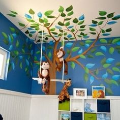 branches and leaves- dang, my kids are too old- this is sooooo cute!