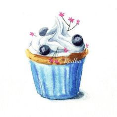 Radha namini : cupcake