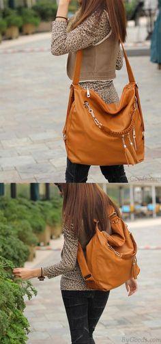 781442855783 Fashion Multifunction Fringed Handbag  amp  Shoulder Bags for big sale!   tassel  handbag