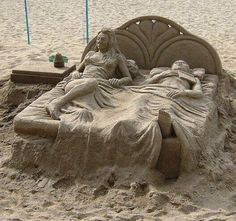 Sand Art. That's Talent!