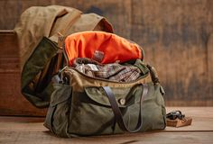 www.Filson.com | The Heritage Sportsman Bag