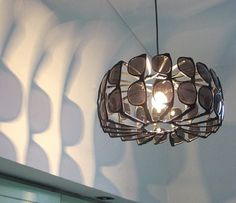#Recycled sunglasses light fixture - how cool is this???