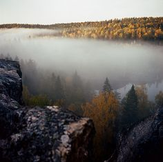 Sunrise in Karelia by finsky, via Flickr