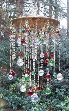 .beautiful bead wind chime by tammyfitzgerald63