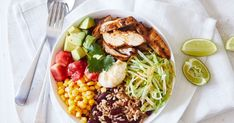 Try this low-carb Mexican chicken bowl. Save the leftovers for a delicious and filling lunch the next day.