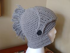 Ready to Ship Hand crocheted Knight's by JansCrochetBoutique