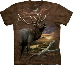 Elk at Dusk T-Shirt - American Expedition