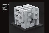 Architectural Model Reciprocity Cube Design | Mirto Art Studio