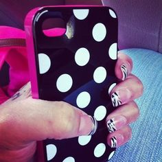 Love the case n the nails
