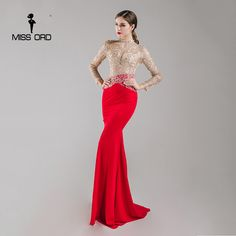 Luluslly is here to supply you affordable red mermaid long sleeve prom dress online, styles to choose from, extra discount to save a lot. Club Dresses, Day Dresses, Evening Dresses, Prom Dresses Long With Sleeves, Mermaid Prom Dresses, Fashion 2017, Fashion Dresses, Clothes For Women In 20's, Prom Dresses Online