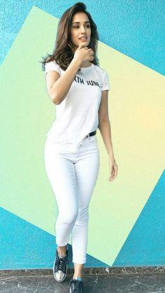 Disha Patani is Indian Bollywood actress and model. Disha works in Hindi and Telugu movies. Disha patani born in bareilly 13 June, Wallpapers, Photos. Indian Bollywood Actress, Bollywood Girls, Beautiful Bollywood Actress, Beautiful Indian Actress, Bollywood Celebrities, Bollywood Fashion, Beautiful Actresses, Bollywood Outfits, Bollywood Style