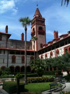 Flagler College was once the Ponce de Leon Hotel
