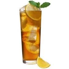 A Dieters Delight! Sugar Free Sweet Iced Tea and Bacardi Limon! low on carbs and cals!