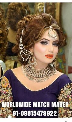 Awsome Bridal Makeup To Update Your Work Wardrobe Bridal Makeup Looks, Bridal Beauty, Bridal Looks, Wedding Makeup, Bridal Hair, Pakistani Bridal Makeup, Pakistani Wedding Outfits, Bridal Makeover, Asian Bridal