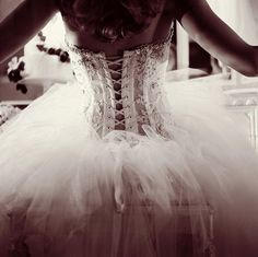 Very ballet.  But the detailing on the corset is lovely.  Just not sheer please...