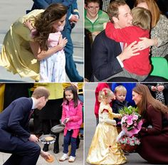 Photo gallery of Prince William and Kate Middleton with babies, children and teenagers - hellomagazine.com