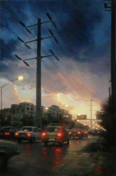 A Sunset In Tehran Autor:  Iman Maleki