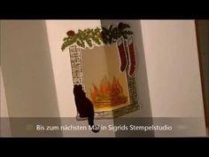 Lichtkarte mit Festive Fireplace von Stampin up - YouTube