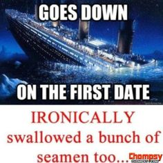 titanic first date
