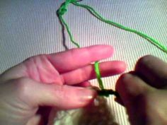 How to Crochet - Join with Treble Crochet Stitch - YouTube