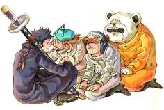 Law,Sachi,Penguin,Bepo