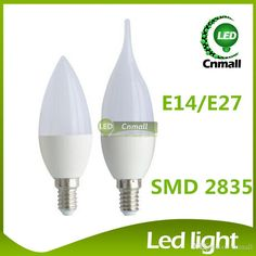 low energy bulb shapes   LED Candle Light LED Bulb Light Chandelier 6W 500lm Led Candle Bulb ...
