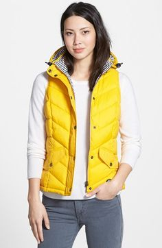 Barbour 'Forland' Hooded Quilted Vest | Nordstrom
