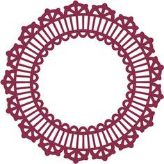 Silhouette Online Store - View Design #11912: victorian lace big border