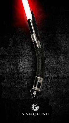 Skywalker Lightsaber, Darth Vader Lightsaber, Lightsaber Hilt, Fantasy Katana, Fantasy Weapons, Darth Maul Comic, Jedi Code, Lightsaber Design, Star Wars Light Saber