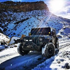 Jeep in the sun.