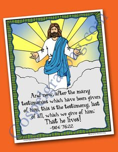 1000 Images About SCRIPTURE POSTERS LDS 2015 Primary Sharing Time Theme