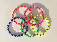 Neon Anklets