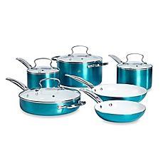 image of Denmark® 10-Piece Ceramic Nonstick Aluminum Cookware Set