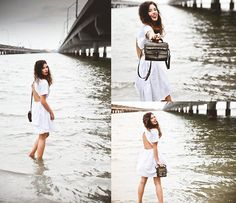 White & Brown & the Ocean  (by Elle-May Leckenby) http://lookbook.nu/look/4369204-White-Brown-the-Ocean