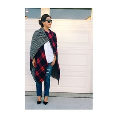 Nordstrom Plaid Wrap Worn once. Super cute and can be worn many ways! Nordstrom Other