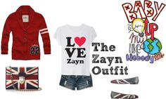 """""""The Zayn Outift"""" by lucelovesnandos ❤ liked on Polyvore"""