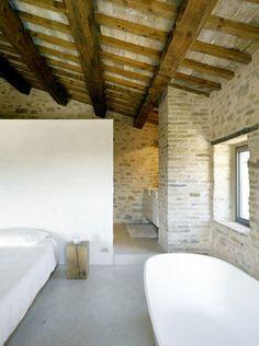 A farmhouse in Italy interior bedroom