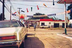 Untitled (Citgo gas station) 1976.William Eggleston