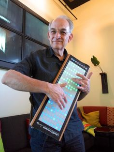 Roger Linn is largely to blame for the fact that so many instruments have grids of pads on them. He was the first to use custom touch-sensit...