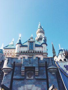 Disneyland castle !!