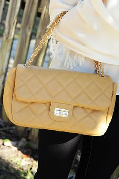 The Other Side Purse: Tan