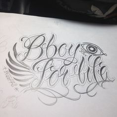 SBC x Beggars = Bboy for life He is Bboy Mile Ho  #lettering #sketch #bboy #crew #logo #bboymile #bboyet #90sbboyz #SBC #beggarscrew #tattoo #13inktattoo #taipei #taiwan #對於團的愛 #減肥成功的禮物