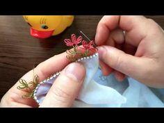 İğne Oyası 'Dağ Üstünde Kardelen Çiçeği' - YouTube