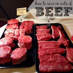 How to Save Money on Beef | FaithfulProvisions.com
