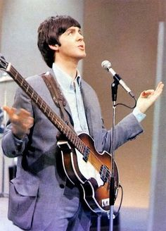 Paul McCartney asking God for inspiration to write Silly Love Songs, not realizing his wish would be granted in spades.