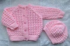 Lacey Baby Cardigan pattern by Karena Conran Crochet , Lacey Baby Cardigan pattern by Karena Conran This pattern is for the cardigan pictured. The pattern for the hat and booties are available separately i. Baby Cardigan Knitting Pattern Free, Baby Boy Knitting Patterns, Baby Sweater Patterns, Baby Girl Patterns, Crochet Baby Cardigan, Knit Baby Sweaters, Knitted Baby Clothes, Baby Hats Knitting, Cardigan Pattern