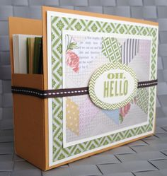 Tea for Two Card Box Gift Stampin Up